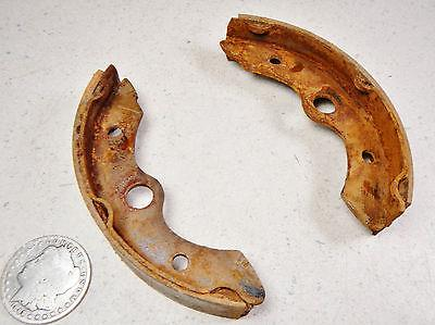 87 HONDA FOURTRAX TRX250 FRONT LEFT/RIGHT BRAKE PADS/SHOES