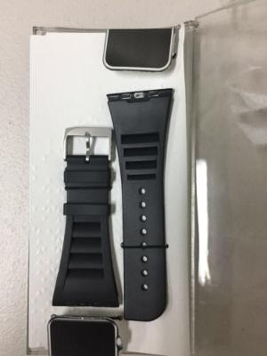 Authentic Case Mate VENTED SMART WATCH BAND FOR APPLE WATCH 42mm BLACK CM032791