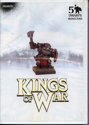 Kings of War Dwarf Ironguard MINT Mantic