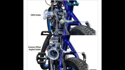 Intake OKO ANGEL Flat Side CARBURETOR 2- Stroke Engine 66cc Motorized Bicycles