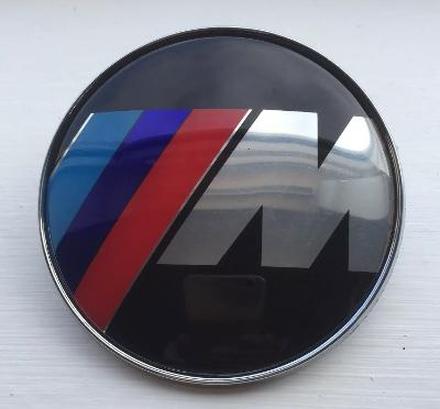BMW 82mm M logo Bonnet Boot badge 2 pin fitting for various BMW models