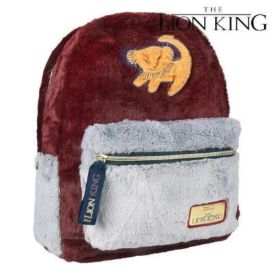 Casual Backpack The Lion King 72785 Burgundy Grey