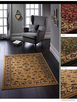 ORIGINS WOVEN GRACIE TRADITIONAL TURKISH STYLE RUG 3 COLOURS Runner Available