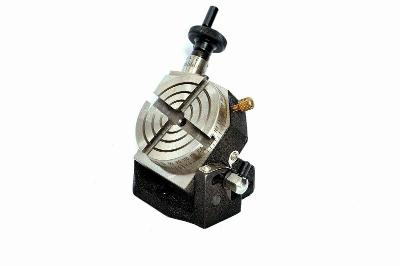 Best Rotary Table Tilting 3 Inch or 75mm For Milling Machine 4 slots