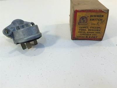 Vintage E1267 International Parts Corp Dimmer Switch 1960 Edsel 1961 Lincoln