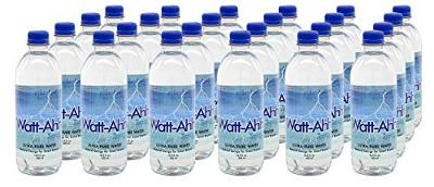 AquaNews Watt-Ahh Premium Polarized Water for Energy and Health Case of 24
