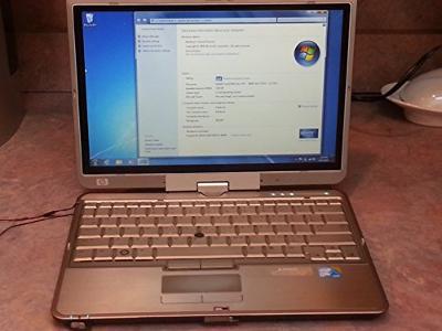 FW401AWABA - HP EliteBook 2730p Tablet PC Centrino 2 vPro - Intel Core 2 Duo SL9400 1.86 GHz - 12.10 WXGA - 2 GB DDR2 SDRAM - 120 GB - Gigabit Ethernet, Wi-Fi, Bluetooth - Windows Vista Business