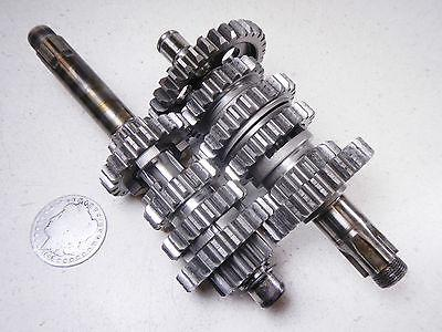 79 YAMAHA DT125 ENDURO TRANSMISSION 6 speed GEAR SET