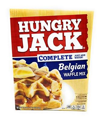 Hungry Jack Complete Belgian Waffle Mix (Pack of 2)
