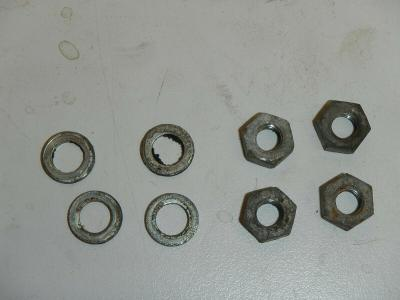 Cylinder Head Mount Nuts 1978 Puch Maxi Moped E-50 2 HP