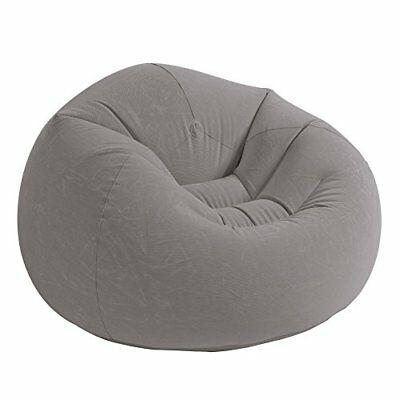 Inflatable Bean Bag Chair Beanless Living Room Dorm Relax Game Seat Couch Lounge