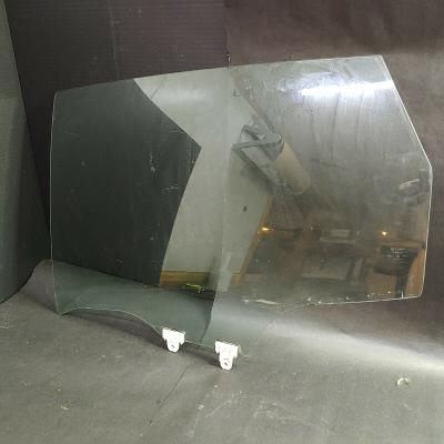 2008-13 Rogue Rear Left Driver Side Door Window Glass Pane Panel w/ Clips, Clear