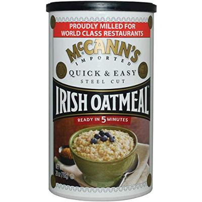 Mcann's Imported Quick & Easy Steel-Cut Irish Oatmeal, Sourced in the USA, 24-O