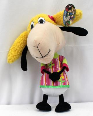 "THE FLOCKHEARTS 2008 LAMB SHEEP LITTLE SISTER BAA 13"" PLUSH DOLL With TAGS"