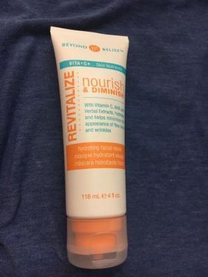 beyond belief revitalize nourish & diminish hydrating facial mask 4 fl oz