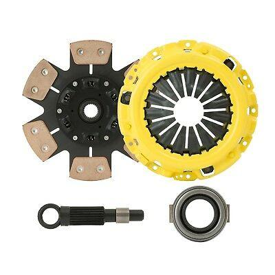 CLUTCHXPERTS STAGE 3 RACE CLUTCH KIT Fit 1988-1991 HONDA CIVIC EF9 B16A CABLE