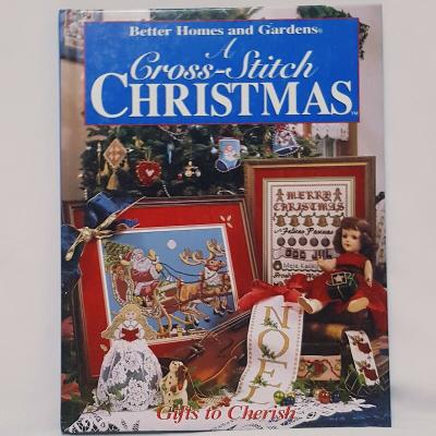 Christmas Cross Stitch Better Homes and Gardens Book 1996 Santa Stockings Noel