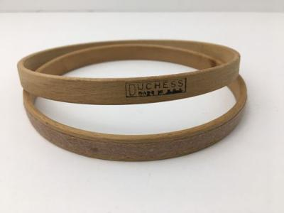 "Vintage Duchess 5.25"" Round Vintage Wood Embroidery Hoop Felt Cushion USA Made"