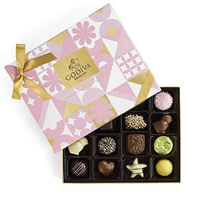Godiva Chocolatier Assorted Chocolate Spring Gift Box, Gift for Mom, Gifts for