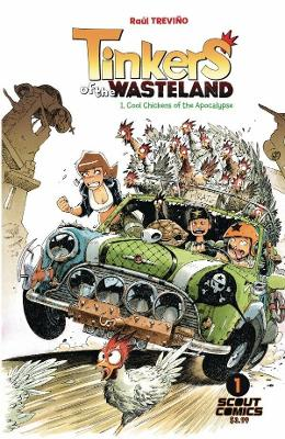 Tinkers Of The Wasteland #1 Comic Book 2017 - Scout Comics