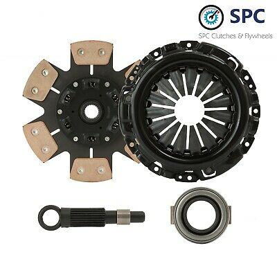 SPC STAGE 4 6-PUCK SPRUNG CLUTCH KIT For 1984-1992 TOYOTA COROLLA 1.6L 4AFE 4ALC