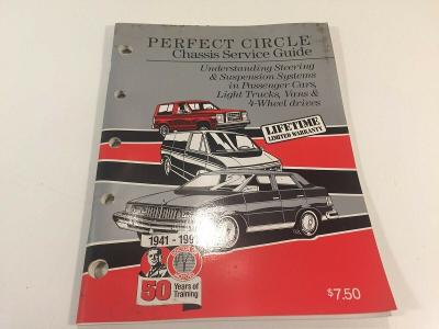 Vintage Perfect Circle Chassis Service Guide 1991 CP-97ADS Dana Corp