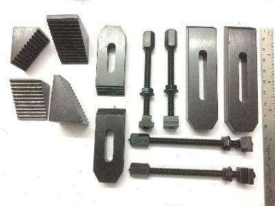 Best 24 Pcs Clamp Kit Set M6 (6 mm) For Rotary Tables, Face Plates