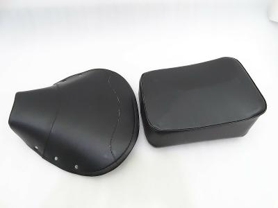 New VESPA VBB,SUPER,PX,RALLY FRONT AND REAR SEAT COVER SET BLACK