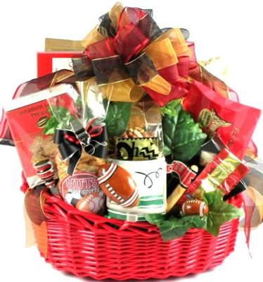 Game Day - Football Gift Basket Loaded with Snacks Perfect for Game Day (Large)