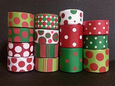 Polyester Grosgrain Ribbon for Decorations, Hairbows & Gift Wrap by Yame Home (7/8-in by 50-yds, Rectangular Shapes)