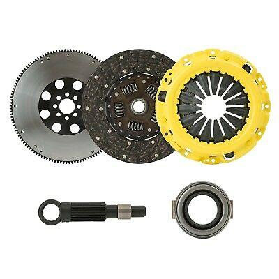 CLUTCHXPERTS STAGE 1 PHASE CLUTCH KIT+FLYWHEEL For 90-96 NISSAN 300ZX 3.0L TURBO