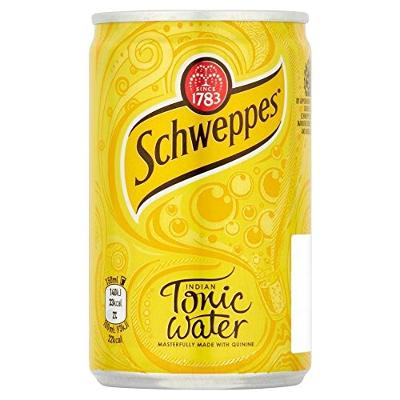Schweppes Indian Tonic Water (150ml) - Pack of 2