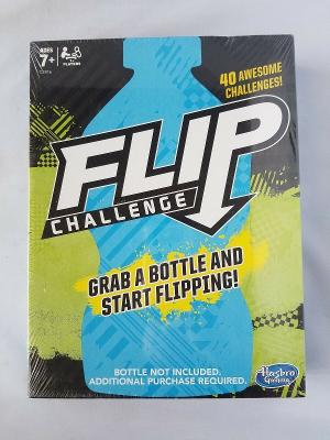 NEW Flip Challenge Game Grab A Bottle & Start Flipping! Hasbro Gaming Ages 7+