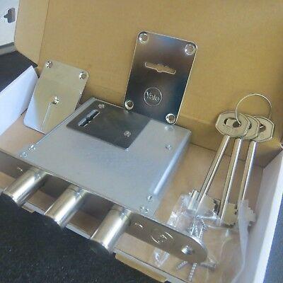 Deadbolt door Lock High Security 3 bolts mortise + Strike Included