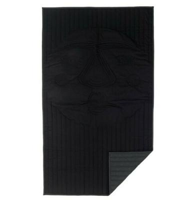 "IKEA Frekvens Black Thick Blanket 83"" x 47"""