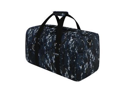 42 Inch Square Cargo Sports Bag Navy Camo ACU Duffel Huge Jumbo Duffelbag Tote