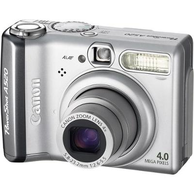 Canon Powershot A520 4MP Digital Camera with 4x Optical Zoom (OLD MODEL)