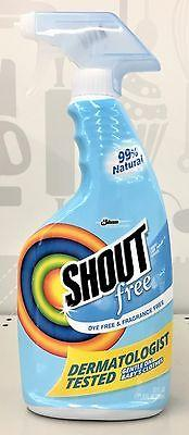 Shout Free Laundry Stain Remover Dye Free Fragrance Free Spray 22 oz