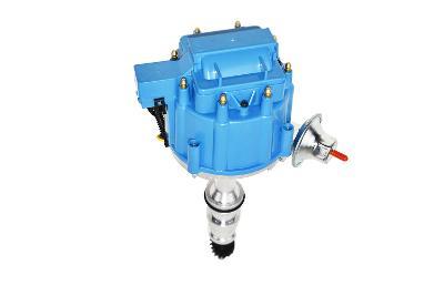 "Ford ""FE"" FE HEI Distributor V8 Engines Blue Cap 65,000 Volt 352 360 390 427 428"