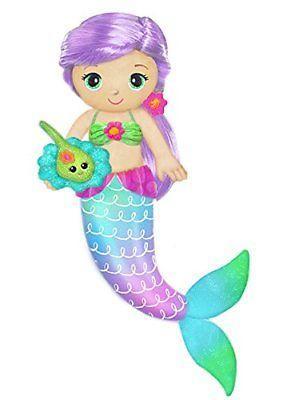 "First & Main 18"" Fantasea Friends Coraline Mermaid Plush Toys"