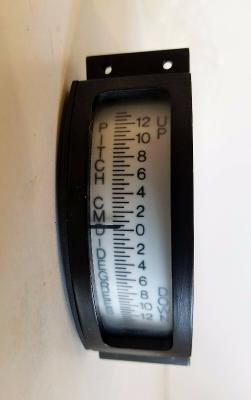Vtg LinAir Ammeter PITCH CMD 163-2 NOS Mfg 04/86 New Surplus