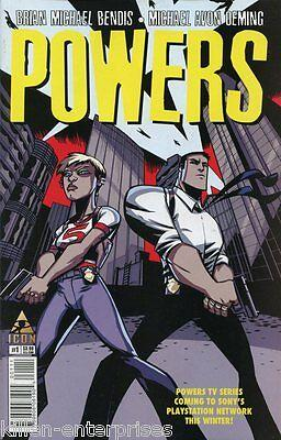 Powers #1 Comic Book 2015 ICON - Marvel
