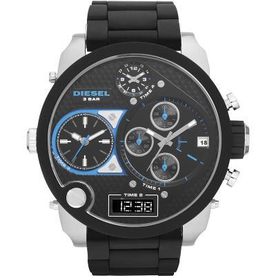 Original DIESEL DZ7278 Men's WristWatch Sport Chronograph Digital Analog