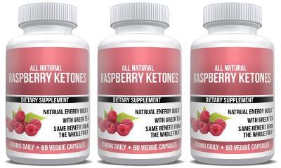 Raspberry Ketones Extract Keto Weight Loss 3X Bottles