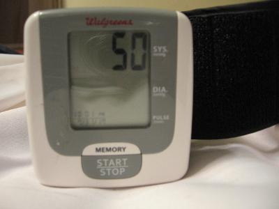 walgreens wrist blood pressure monitor manual