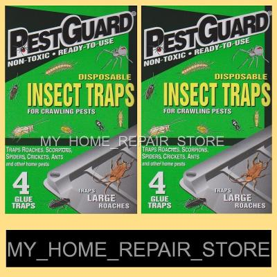 Pest Guard Ready-To-Use Disposable Insect Traps 4 In Each Box!