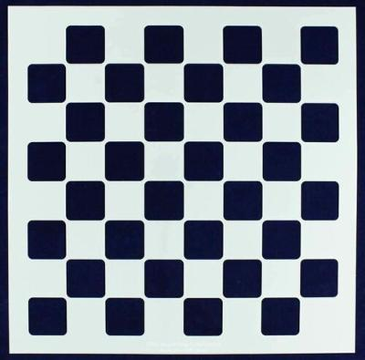 """Chess/Checkerboard Stencil 14 Mil -18"""" X 18"""" - Painting /Crafts/ Templates"""