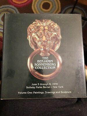 The Benjamin Sonnenberg Collection Volume one : Paintings drawings sculpture