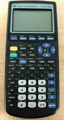 Texas Instruments TI-83 Plus Graphing Calculator, Tested