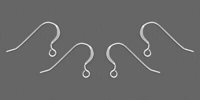 24 (12 prs) STERLING SILVER French HOOKS Earrings Ear Wires EarWires Stamped 925
